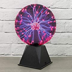 Idea Regalo - Global Gizmos - Lampada a sfera Magic Plasma, ca. 20 cm