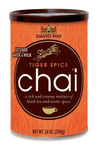 Chai Tea Tiger Spice David Rio 3 Dosen je 398 g