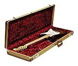 Fender 099-6103-400 Multifit Deluxe Strat/Tele Hardshell Case Tweed - Koffer für Strat und Tele