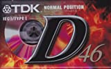 CASSETTA AUDIO TDK D46
