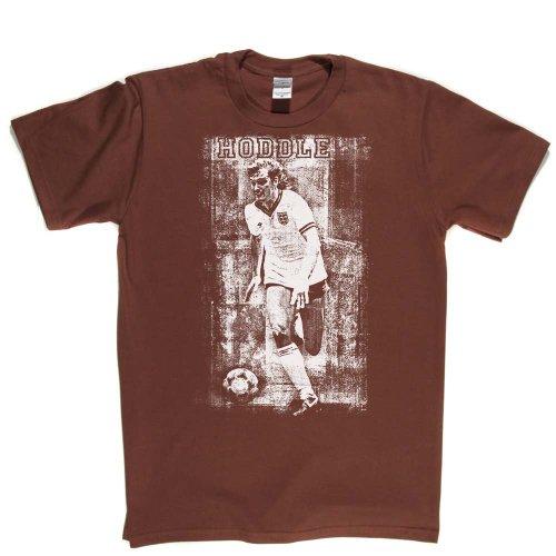 Glen Hoddle Football Footy Fan Tee T-shirt Braun