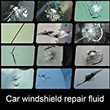 Leoie DIY Car Windshield Repair Kit Windscreen Glass Repair Tool Set for Bullseye Star Half-Moon Cracks or The Combination Cracks