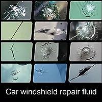 Kit de reparación de parabrisas de coche Zantec, kit de reparación de parabrisas y cristal, juego de herramientas de reparación para grietas de media luna de Bullseye Star o la combinación de grietas