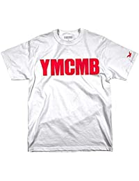 YMCMB - YMCMB - T-shirt Blanc logo Rouge - Homme
