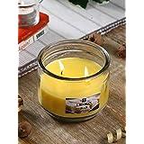 Hosley® Lemon Bar Highly Fragranced, 2 Wick, 10 Oz Wax, Jar Candle