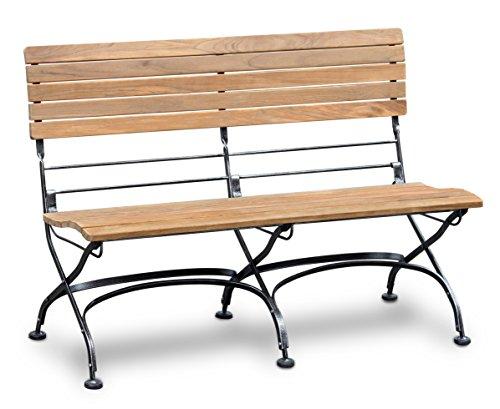 Jati Garden Bistro Teak Bench 1 2m Outdoor Furniture Patio
