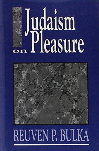 Judaism On Pleasure