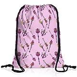 style3 Sailor Style Borsa da spalla sacco sacchetto drawstring bag gymsac pietra di luna anime moon