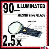 90MM ILLUMINATED MAGNIFYING GLASS -PIA INTERNATIONAL