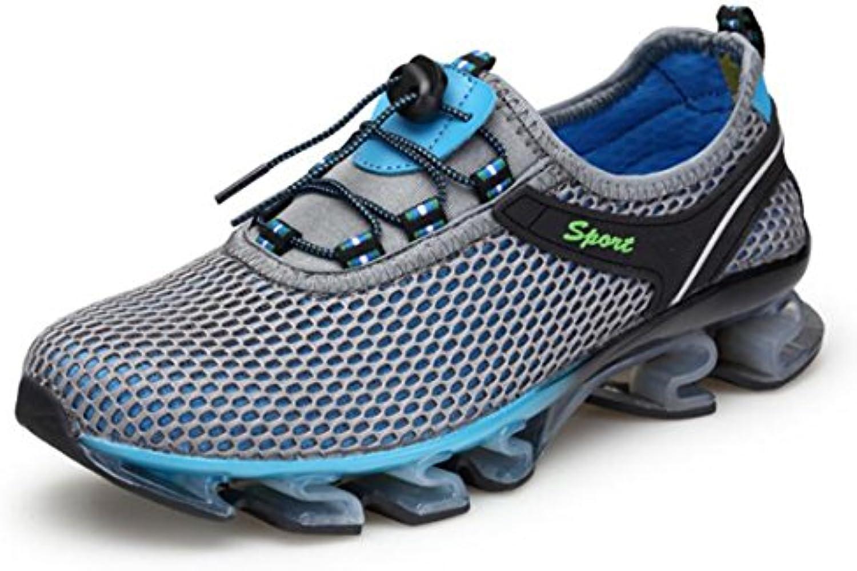 Zapatillas De Malla Transpirable para Hombre Zapatillas De Malla Casual Zapatillas De Running  -