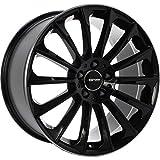 GMP Italia STELLAR 9,5x19 LK 5x112 Black rim polished Mercedes