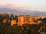 druck-shop24 Wunschmotiv: Alhambra at Sunset. Granada