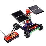 Domybest - Modèle de véhicule sans fil à télécommande - Jouet de voiture solaire pour bricolage - Cadeau pour enfants