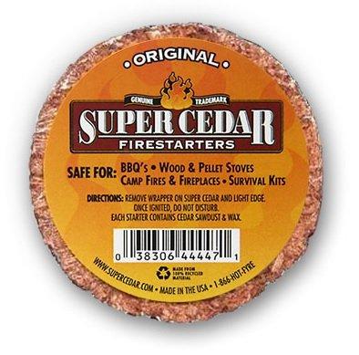 SUPER CEDAR FIRESTARTERS – 4 Pastillas