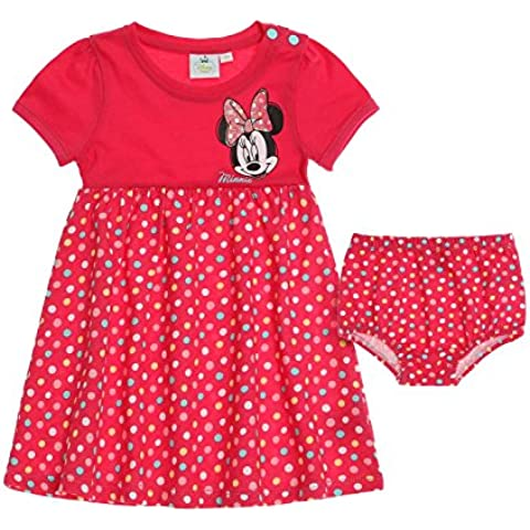 Disney Minnie Babies Vestido & Slips 2016 Collection - fucsia