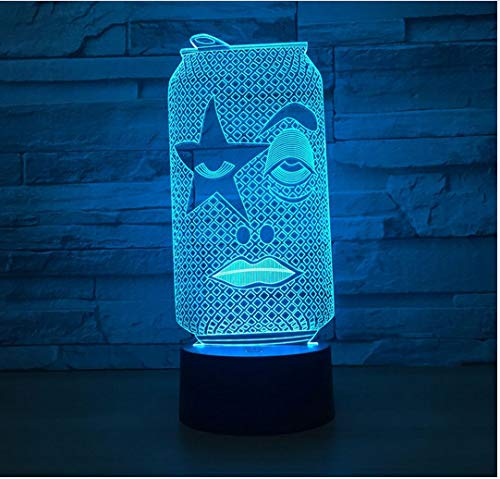 UsbTouch3D LampeKreative LedNachtlicht Nachtlicht Lampe Kinder Kabinett BeleuchtungLed SensorBewegung