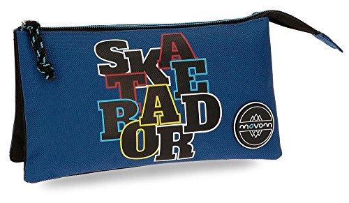 Movom Skateboard Neceser de Viaje, 22 cm, 1.32 litros, Azul