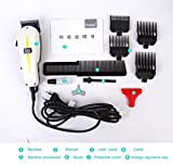 Kemei KM-8834 Professional Electric Hair Trimmer Clipper Heavy Duty Gromming Set for Men, Women (MutliColor) by EzLife