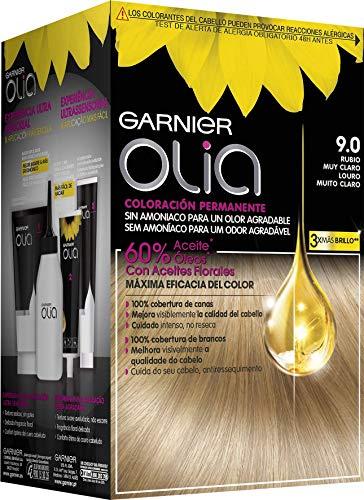 OLIA Permanent Farb 9,0 Blonde Haare sehr klar