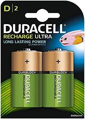 Duracell HR20 - Pilas recargables (NiMh, 1.2 V, 2 unidades)