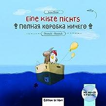 Eine Kiste Nichts: Kinderbuch Deutsch-Russisch