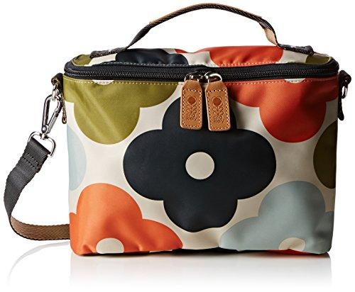 Orla Kiely Damen Mini Box Schultertaschen, Multicolour (Multi) (Multi-flower-print)