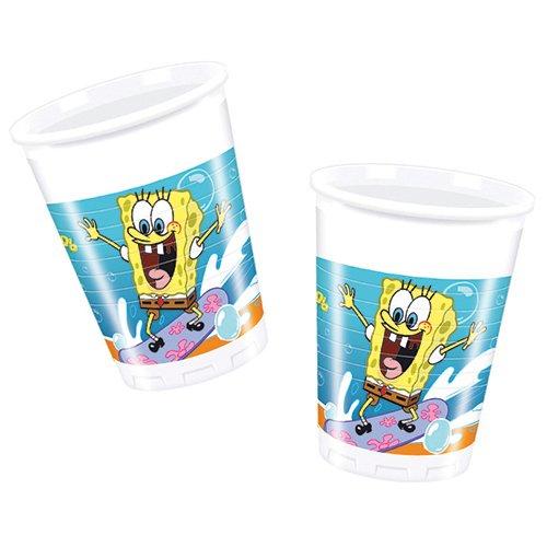 Nickelodeon - Cubertería para fiestas Bob Esponja (Procos 71546)