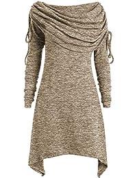 36//38 S Pulli Damen Streifen Langarmshirt mit Gold Nieten Pollover Shirt Gr