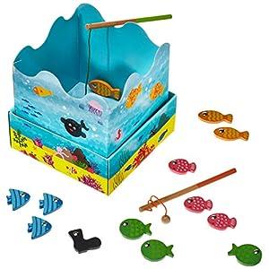 Goula – Juego de la pesca – Juego de mesa preescolar a partir de 3 años