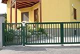 Aluminium, für Gartenzaun Zaun SIENA Garten und Haus, aus Aluminium, Zäune, mit lebenslanger Garantie