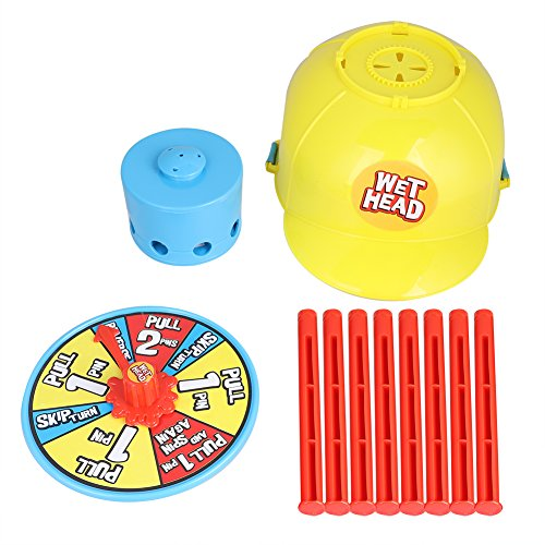 Giochi di Wet Head Challenge Wet Hat Water Game lustige Rouletspiele auf der Roulette Family Party Holiday Divertenti Gadget Gag Toys