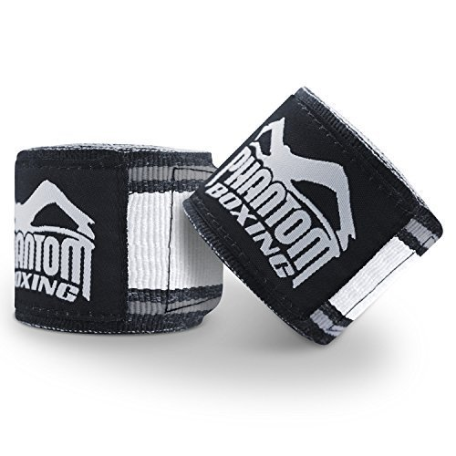 "Phantom Boxing Bandagen ""MT-Pro"" - Schwarz/Weiss"