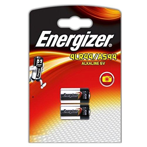 Galleria fotografica Energizer A544 4LR44 4G13 L1325 6V Confezione 2 Batterie Alcaline