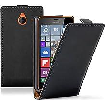 Funda carcasa piel sintética con tapa Vrai para Microsoft Nokia Lumia 640XL/640XL LTE/640XL LTE Dual SIM/640XL Dual SIM