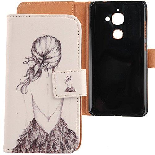 Lankashi PU Flip Leder Tasche Hülle Case Cover Schutz Handy Etui Skin Für Letv Le S3 Le 2 X 620 Le 2 Pro 5.5