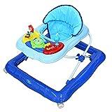 Bebe Style BW0016B Deluxe Baby-Wanderer, Lauflernhilfe mit Spielcenter, Gehfrei Gehhilfe baby walker, blau