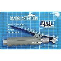 FoxHunter New Style Sandstrahl-Pistole mit 4Keramik Düsen Ersatz 1020Liter sand Blaster Gun