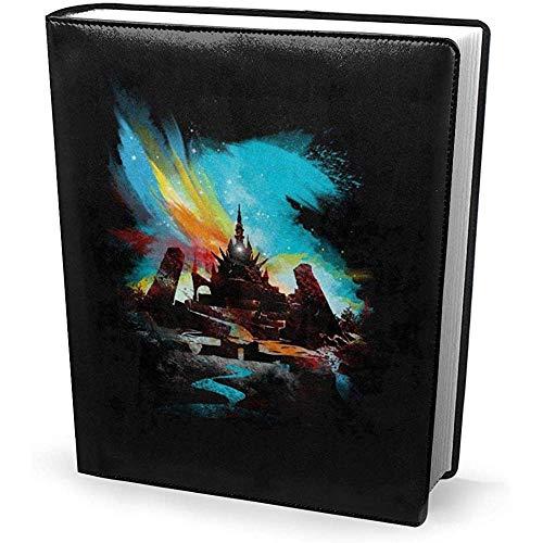 Portada del libro 9x11 pulgadas Sunset On Hyrule Legend of Zelda - Estirable lavable reutilizable
