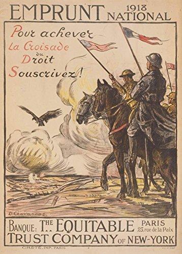 vintage-frances-ww1-1914-1918-propaganda-prestamo-de-liberacion-de-1918-para-ayudar-triunfo-derecho-