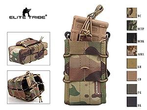 airsoft chasse Molle pochette magazine tactique double modulaire fusil pochette magazine