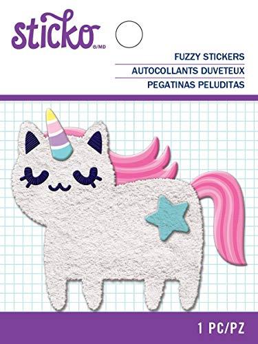 Sticko 0015586887266 Fuzzy-Cat Einhorn 52-45097, Sonstiges -