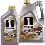 1 L + 5 L = 6 Liter Mobil 1™ FS 0W-40 Motor-Öl Motoren-Öl; Spezifikationen/Freigaben: API SN/SM/SL/SJ; ACEA A3/B3, A3/B4; MB-Freigabe 229.3; MB-Freigabe 229.5; VW 502 00/505 00; PORSCHE A40; API CF; V