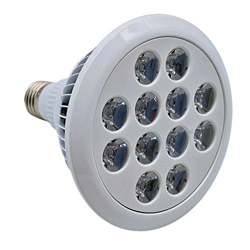 KVA LIGHTING Wachsen Licht LED-Lampe, E27, 24W PAR38, helle 3500 Lumens, Hydroponischen LED Leuchtmittel Pflanzenlampen (3500 Lumen Led-licht)