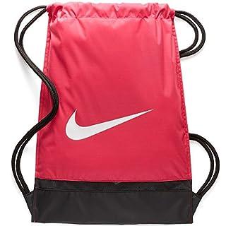 Nike Unisex– Erwachsene NK BRSLA GMSK Turnbeutel, Rush pink/Black/White, Einheitsgröße