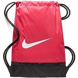 Nike Nk Brsla Gmsk Saco de Gimnasia, Unisex Adulto, Rosa (Rush Pink/Black/White), One Size