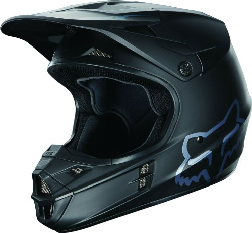 Fox Helm V1, Matte Black, 55-56 cm, 03932-255
