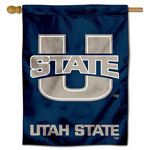 College Flags and Banners Co. Utah State University Aggies House Flagge Utah State University