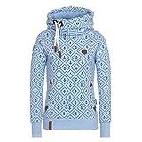 Tookang Damen Kariertes Sweatshirt Langarm-Pullover Mit Kapuze Sweatshirt Mode Pullover Sweatshirt Oberteile