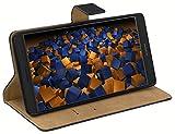 mumbi Ledertasche Tasche im Bookstyle für Huawei Mate 8 Tasche