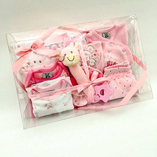 nouveau-né bébé fille Cadeau layette - Panier